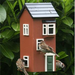 Wildlife Garden byhus foderautomat - terrakotta