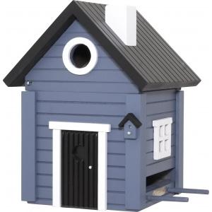 Wildlife Garden fuglehus/foderautomat - blå