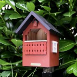 Wildlife Garden balkon fuglehus - rød