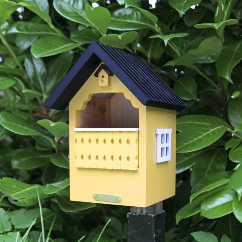 Wildlife Garden balkon fuglehus - gul