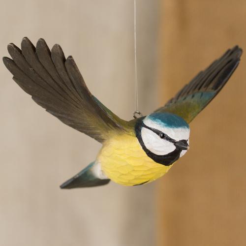 Wildlife Garden træfugl - blåmejse, flyvende