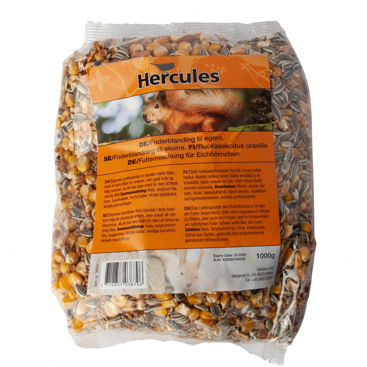 Hercules egernfoder, 1 kg