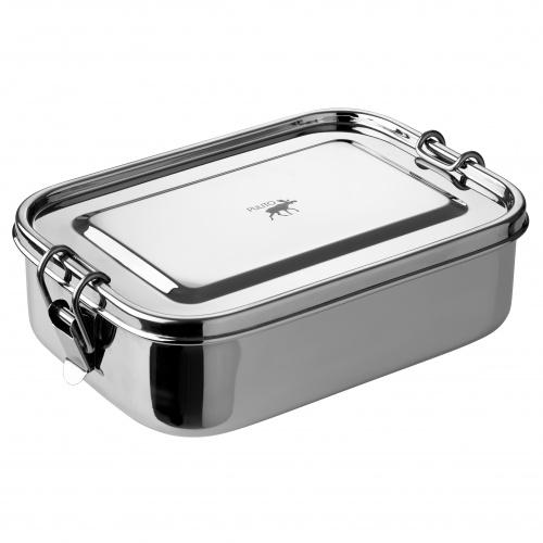 Pulito lufttæt madkasse i rustfrit stål