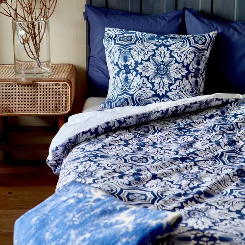 Jim Lyngvild øko sengesæt - Tiles, 140x220