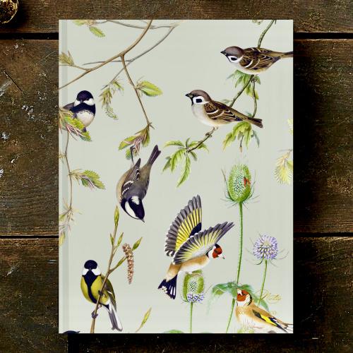 Koustrup & Co. notesbog - fugle