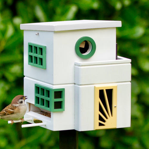Wildlife Garden fuglehus/foderautomat - Art Deco