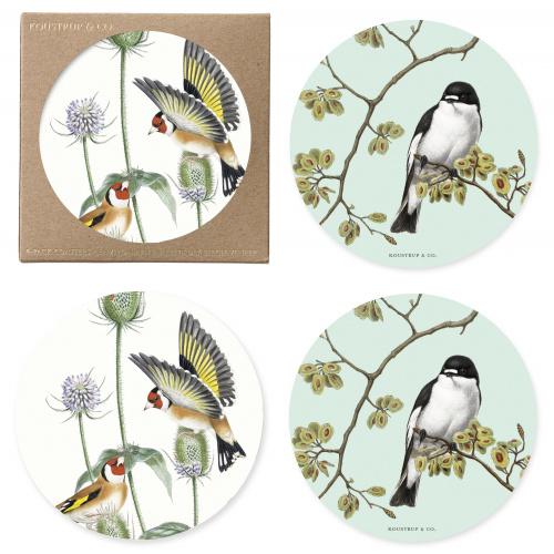 Koustrup & Co. glasbrikker - havens fugle