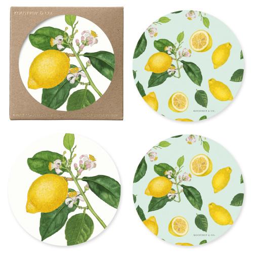 Koustrup & Co. glasbrikker - citroner